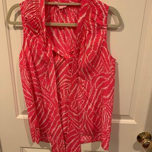 Lilly Pulitzer Dahlia Top Show Your Stripes S